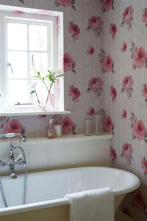 shabby chic bathroom wallpaper bathroom wallpaper ideas shabby chic style bathroom south east by wallpaperdirect