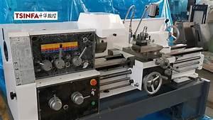Conventional Manual Metal Engine Turning Lathe Machine