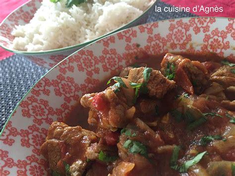 la cuisine d agnes curry d 39 agneau à la cannelle 3