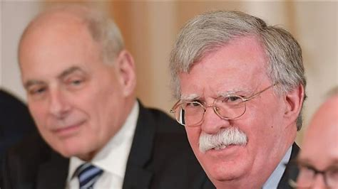 John Kelly and John Bolton get into profanity laced dispute
