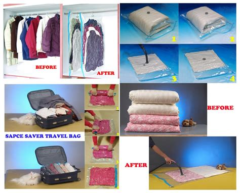 Sealed Vacuum Bags With Hanging