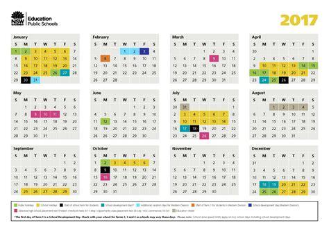 school calendar hannam vale public school