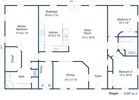 4 bedroom pole barn house floor plans barn homes floor plans 2014 metal building floor plans for