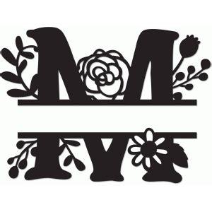 silhouette design store view design  split monogram