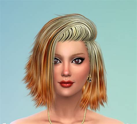 sims  hairs mod  sims   colors  stealthic