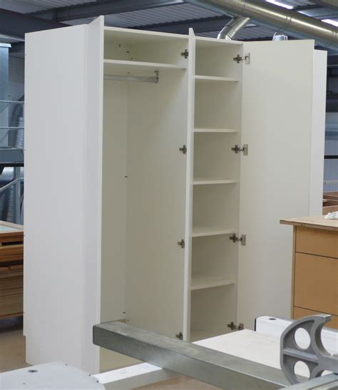 White Hanging Wardrobe by White Wardrobe Diy Wardrobes Information Centre