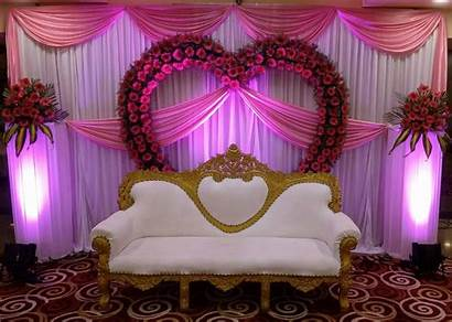 Decoration Stage Flower Elegant Flowers Simple Bridal