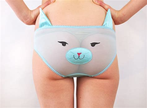 For The Ladies Animal Face Underwear With Ears Geekologie