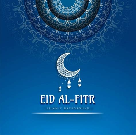 eid al fitr blue background   eid al