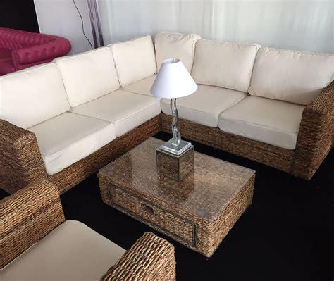 wicker sectional sofa indoor rattan indoor sofa english banana abaca rattan sofa with