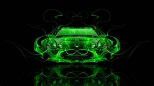 Lotus Elise Tuning Front Fire Abstract Car 2014 el Tony