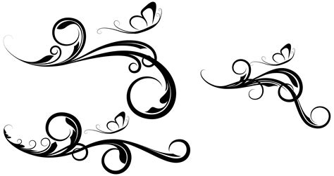Decorative Swirls - 1000 images about chip board designs on