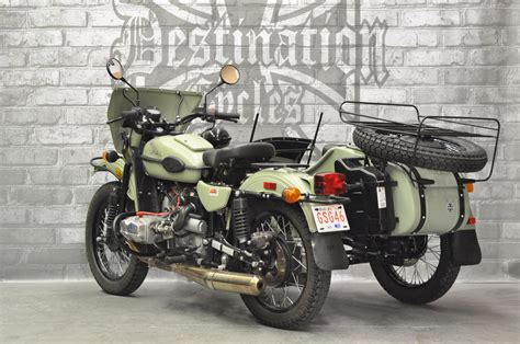Ural Gear Up Image by Used 2014 Ural Gear Up Green Sold