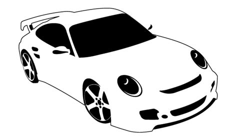 Pencil And In Color Car Clipart Cartoon