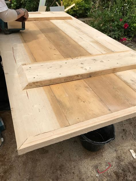 Makeover   A Dining Table Made From Scaffold Boards