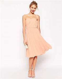 Une robe corail pour ma tenue de demoiselle d39honneur for Robe demoiselle d honneur peche