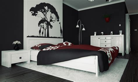 l black paint decoration what does the color of your bedroom say about you