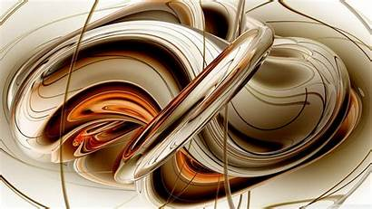 Liquid Metal Desktop 3d Abstract Fractal 4k