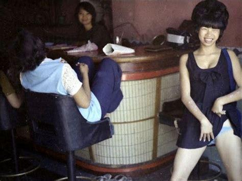 bar girls   vietnam war   candid color shots