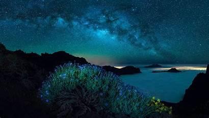 Milky Way Polar Lights Backiee Portrait Landscape