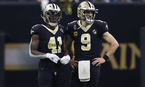 saints offensive triplets brees kamara thomas ranked