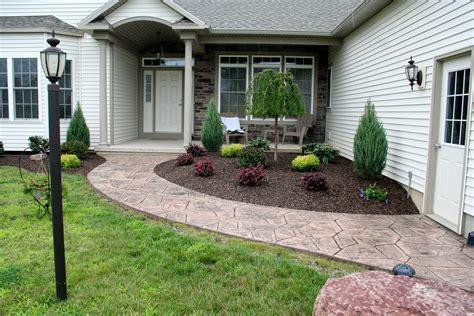 front entrance landscaping front entrance landscaping nucrete