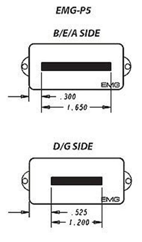 Emg String Dimensions