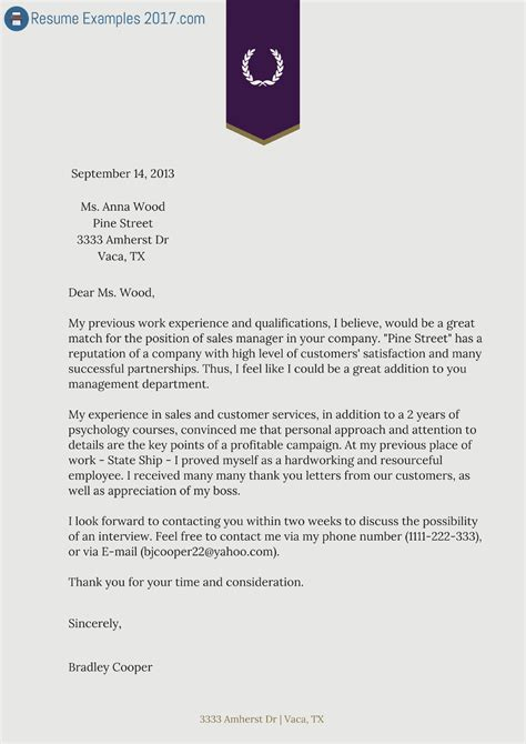 cover letter of a resume buy resume cover letter