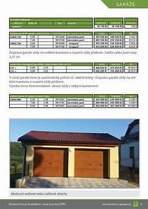 Betonové garáže ceník