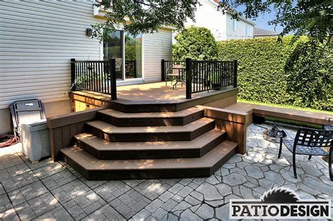Patio Designs by Patio Design Timbertech