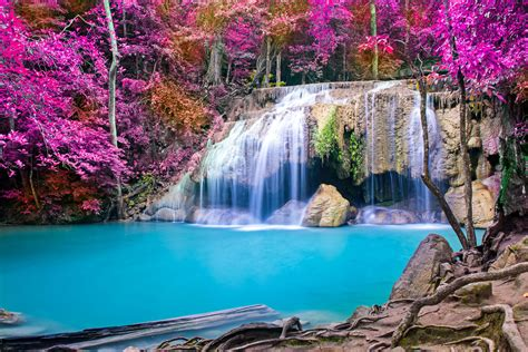 waterfalls wallpapers images  pictures backgrounds
