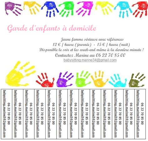 modèle annonce baby sitting word location baby sitter nounou occasionnel ou r 233 gulier