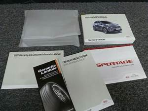 2020 Kia Sportage Owner Operator Manual User Guide Set Lx