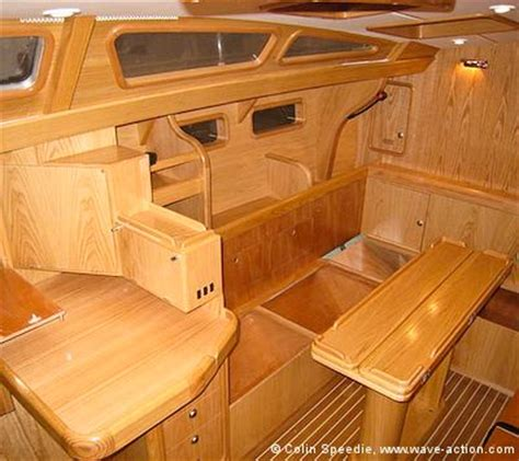 Boat Interior Layout by The Ovni 435 Aluminum Sailboat Interior Layout Showing