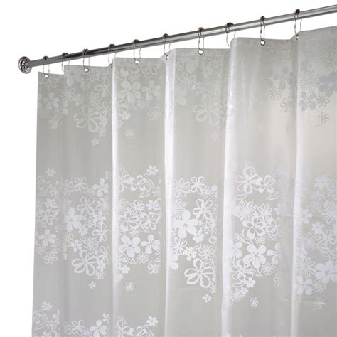 home depot shower curtains croydex shower curtain in mosaic silver ae543440yw the