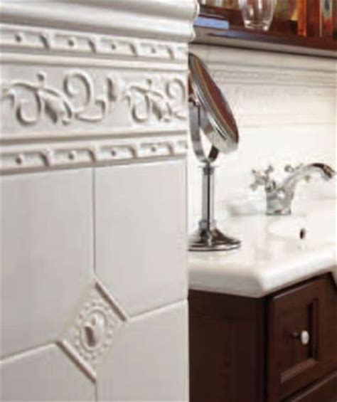 Using Victorian Style Wall Tiles