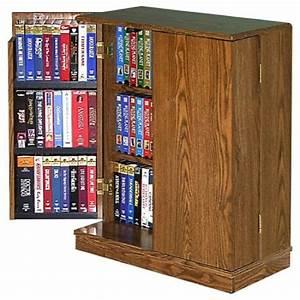 R14-1327 - VCR Video Cassette Storage Cabinet Vintage ...