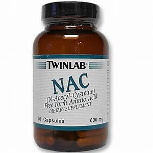 Twinlab Nac  N-acetyl-cysteine  - 60 Capsules