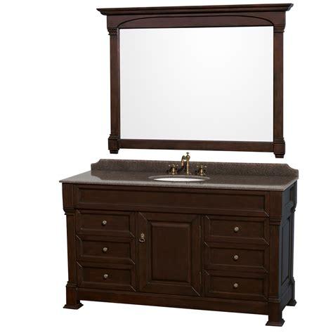 wyndham wcvtras60sdcibunom56 andover 60 quot single bathroom