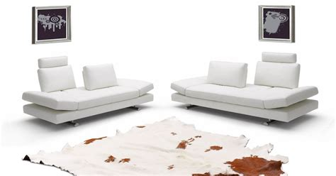 Contemporary Italian Leather Sofa Set