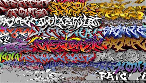 wild style  graffiti fonts family  street artwork