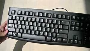 Unedited Unboxing And Review  Logitech K120 Keyboard