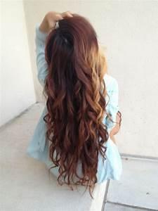 Long Wavy Hair On Tumblr
