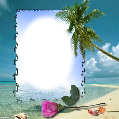 cadre pour photo gratuit montage photo quot cadre palmier quot pixiz