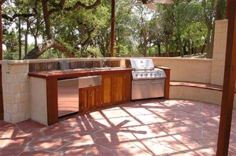 simple outdoor kitchen ideas outdoor kitchen design ideas for comfortable garden
