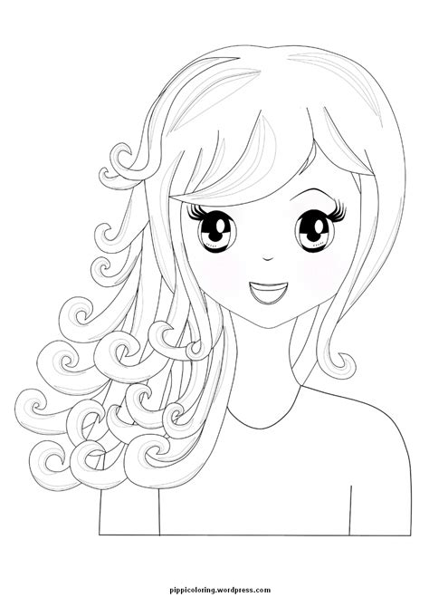 girl coloring pages bestofcoloringcom