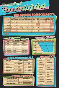 Ipa Chart Poster  U00b7 The Ling Space Store  U00b7 Online Store Powered By Storenvy