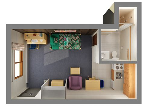 shared apartments office  residence life university