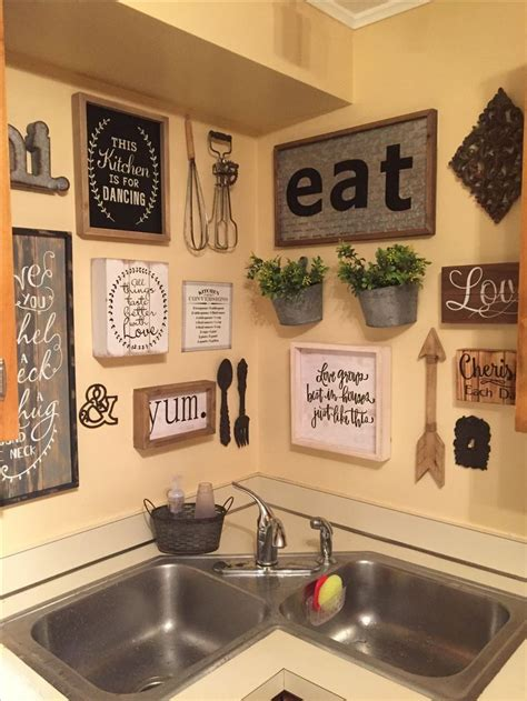 From artwork to accent walls, there's a tip for every taste. Unique Small Kitchen Decor Ideas Diy Wall Art Kitchen Wall Decor Ideas DIY and Unique Wall D… in ...