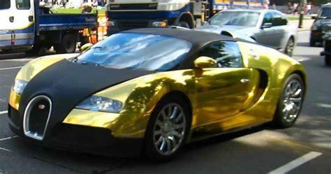 bugatti veyron super sport gold